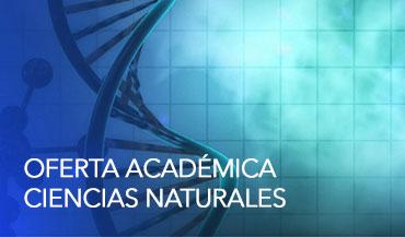 Oferta Académica – Ciencias Naturales