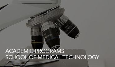 Academic Programs – Medical Technology